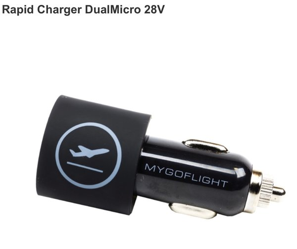 RAPID CHARGER DUAL MICRO 28V